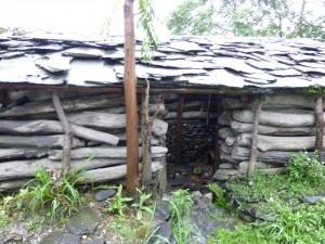 セデック族の伝統的な家